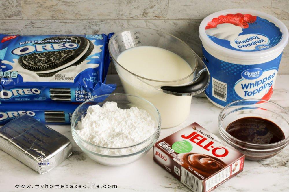 oreo dessert ingredients